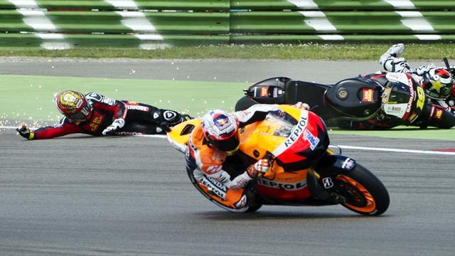 Bautista given grid punishment for Lorenzo crash