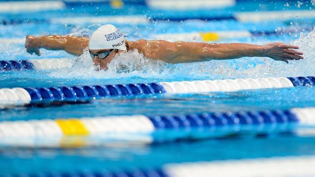 Phelps seals eighth London berth, Franklin makes seven