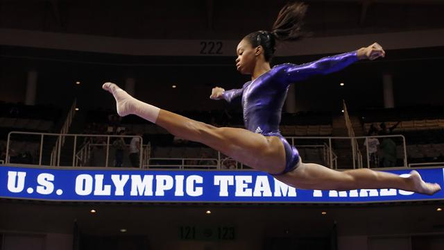 US gymnast Douglas first to book London berth