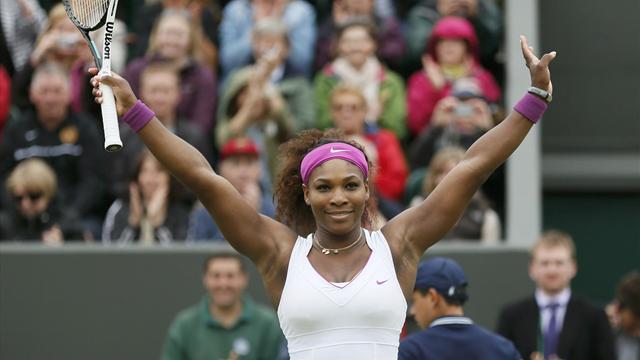 Serena beats Kvitova to reach Wimbledon semis