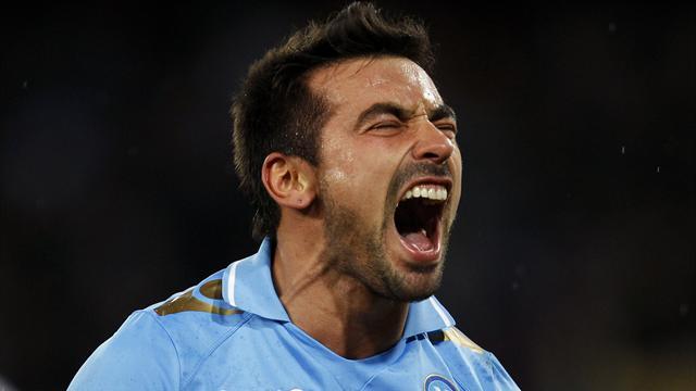 Lavezzi leaves Napoli for PSG