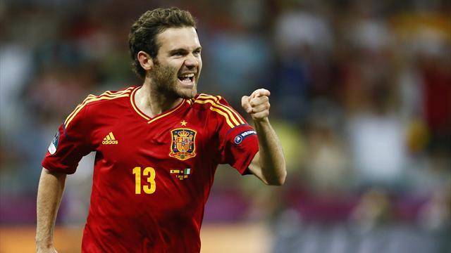 Mata, De Gea make Spain's Olympic squad