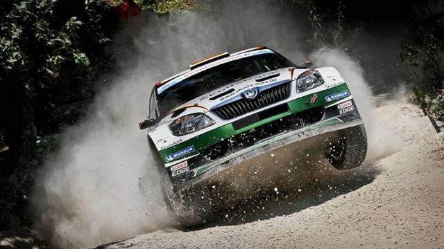 Wiegand leads Rally San Marino