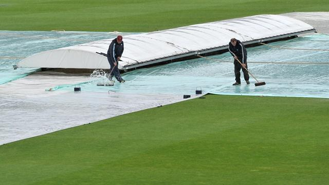 Rain ruins Derbyshire fixture