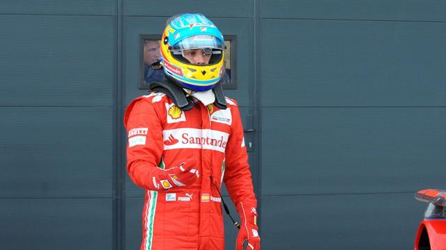 """Alonso : """"Un tour à l'aveugle"""""""