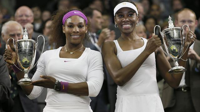 Serena adds Wimbledon doubles crown to singles win