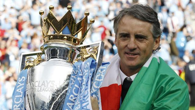 Mancini signs five-year Manchester City extension