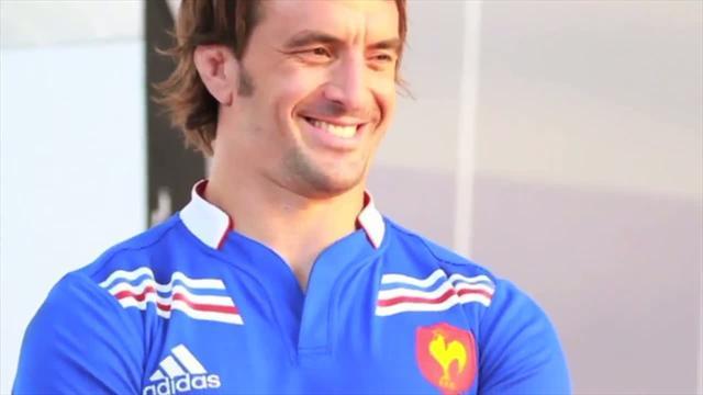 Présentation du nouveau maillot du XV de France