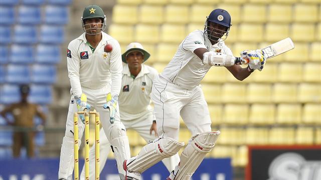 Perera gives Sri Lanka edge in third Test