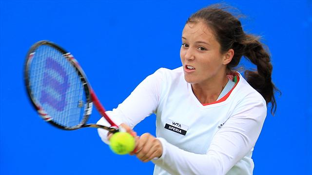 GB's Robson and Konta to face Argentina in singles rubbers