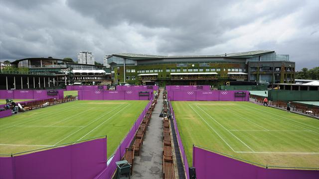 Wimbledon begins London 2012 makeover