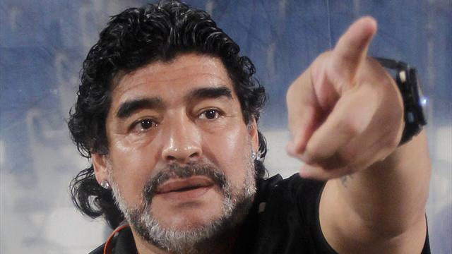Maradona wants China job