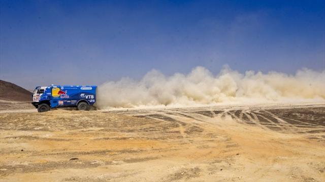Мардеев поднялся на второе место в зачете грузовиков после десятого этапа «Дакара»