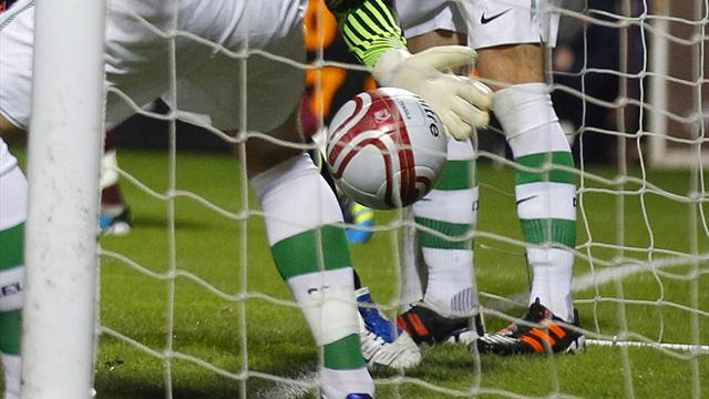 Uefa to ignore goal line technology rule