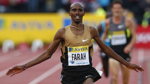 Farah's pace leave rivals trailing