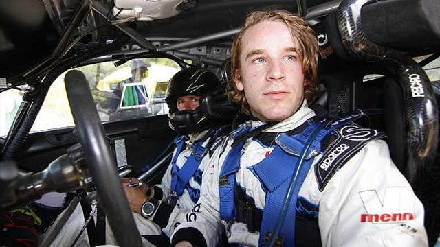 Ostberg leads Spain Rally after morning downpours