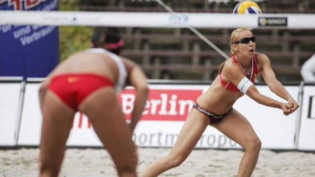Weather to force beach volleyball cover-up