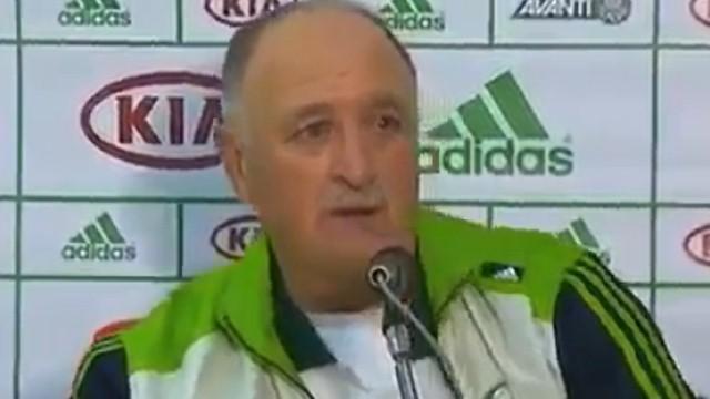 Scolari leaves Palmeiras
