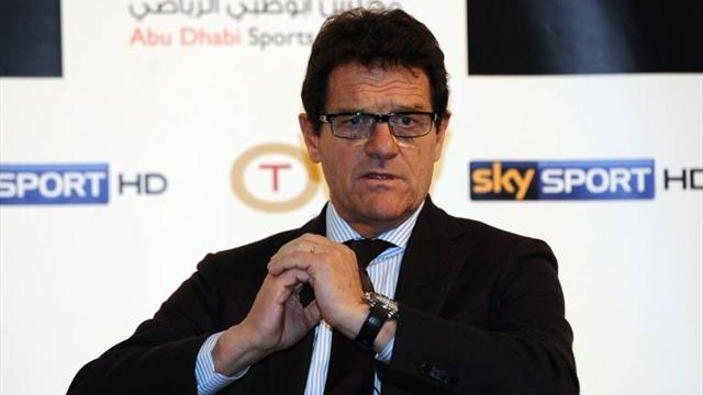 Capello confirmed as Russia coach