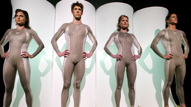 New hi-tech suits to change swimming again