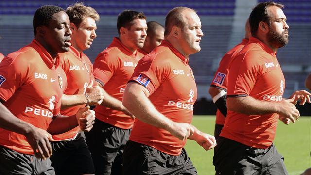 Toulouse: Premier entraînement dirigé par Servat