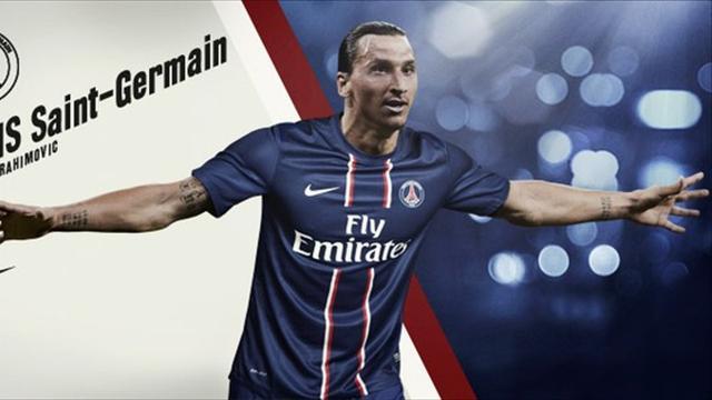 Ibrahimovic signs for PSG