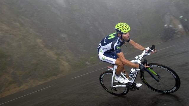Ruta del Sol : Alejandro Valverde frappe fort