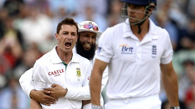 South Africa fight back against England at The Oval