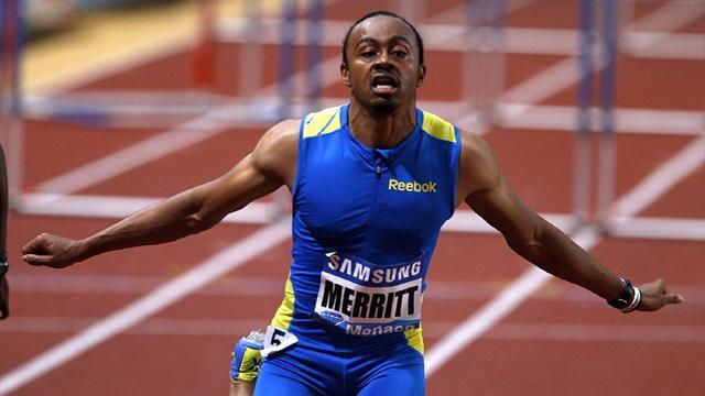 Merritt shines again in Monaco