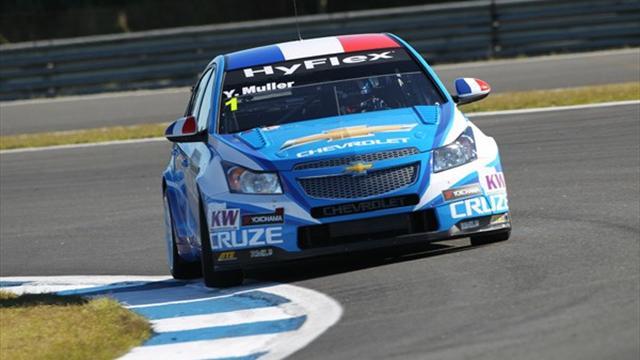 Muller still on top in Curitiba