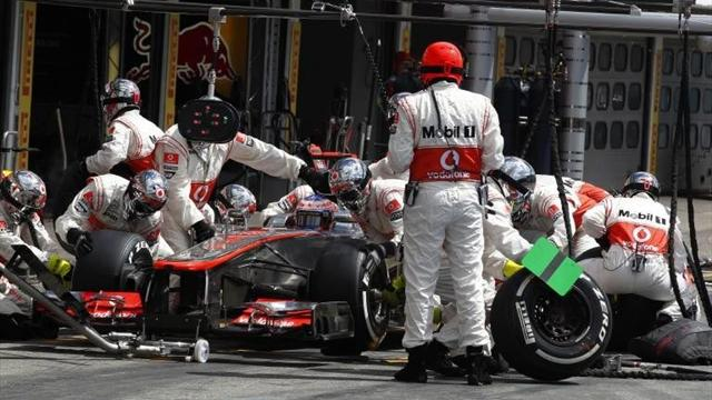 McLaren set pitstop world record