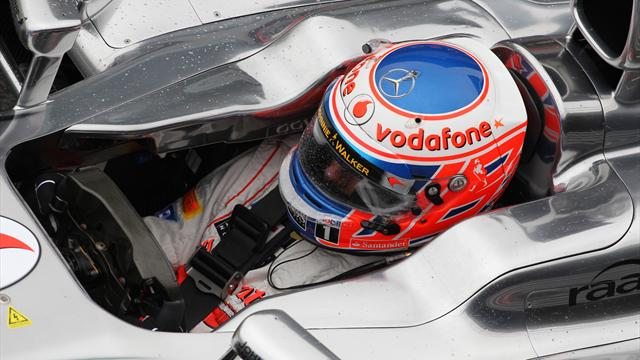 Button: Luck needed in the wet