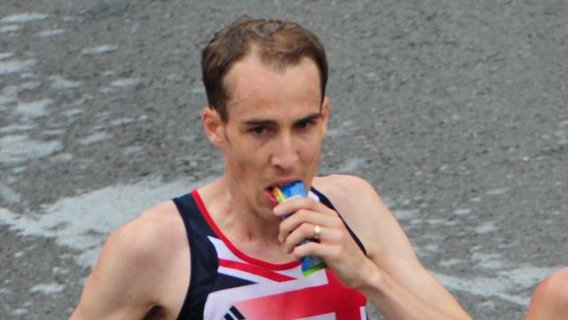 Marathon runner Webb out due to injury