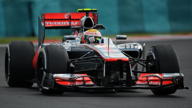 McLaren dominate Hungarian practice