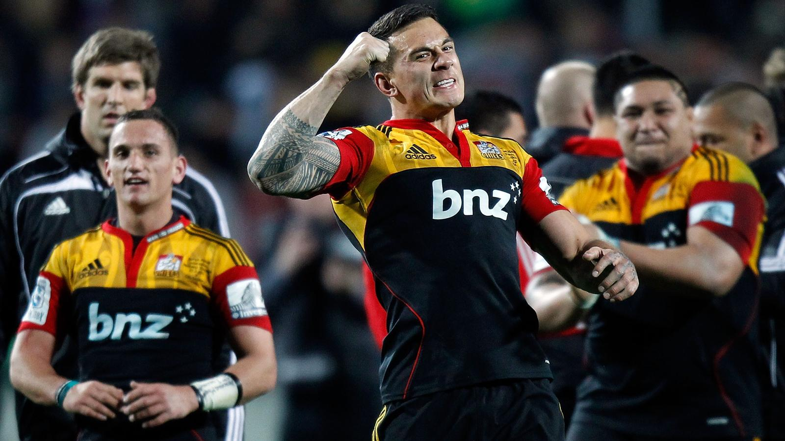 Chiefs Upset Crusaders