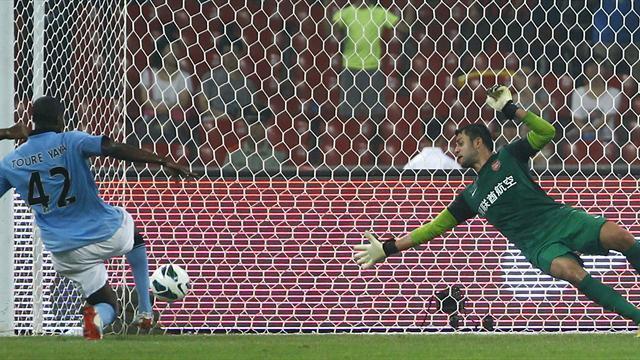 City beat Arsenal in Beijing