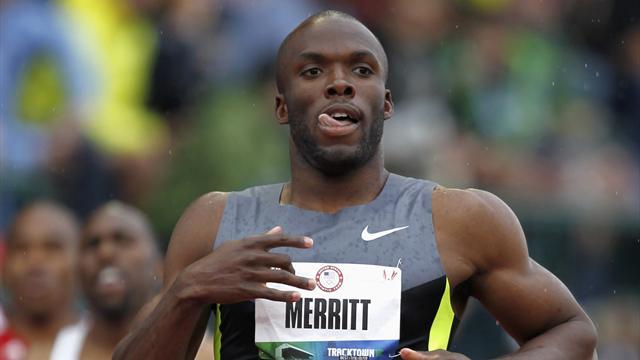 Merritt suffering with hamstring strain