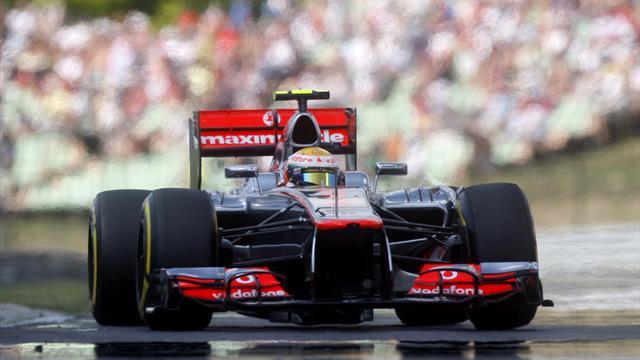 Hamilton storms to Hungary pole