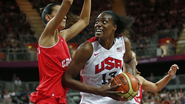 US survive Croatian scare in basketball opener