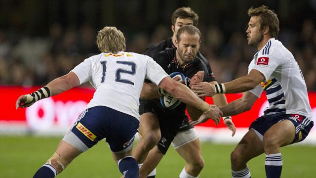Sharks down Stormers to face Chiefs