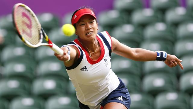 Mixed fortunes for Team GB women at Wimbledon