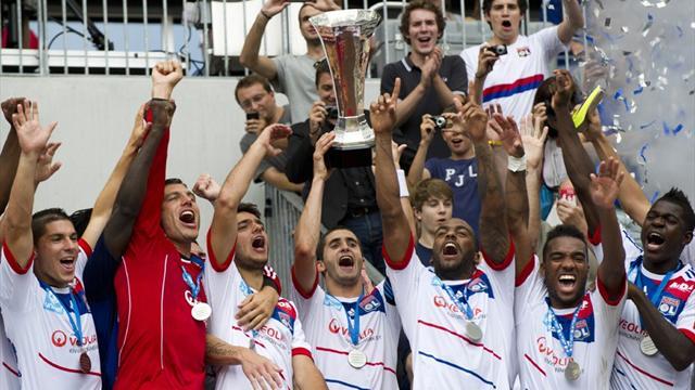 Lyon claim Trophee des Champions win