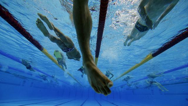Spectator's view - Inside the Aquatics Centre Part 1