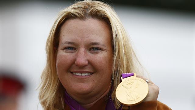 Historic Rhode claims women's skeet Olympic gold