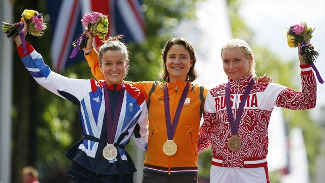 Silver for Armitstead as Vos wins Olympic road race