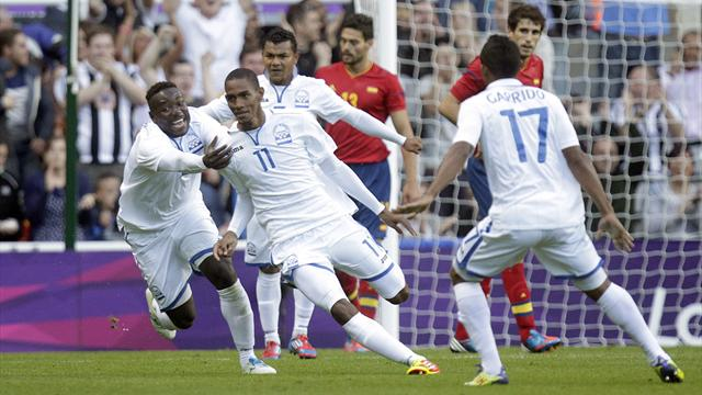 Spain dumped out of Olympics by Honduras