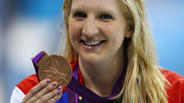 Adlington wins bronze in Olympic 400m