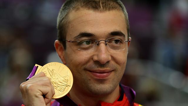 Moldoveanu wins Olympic 10m air rifle gold