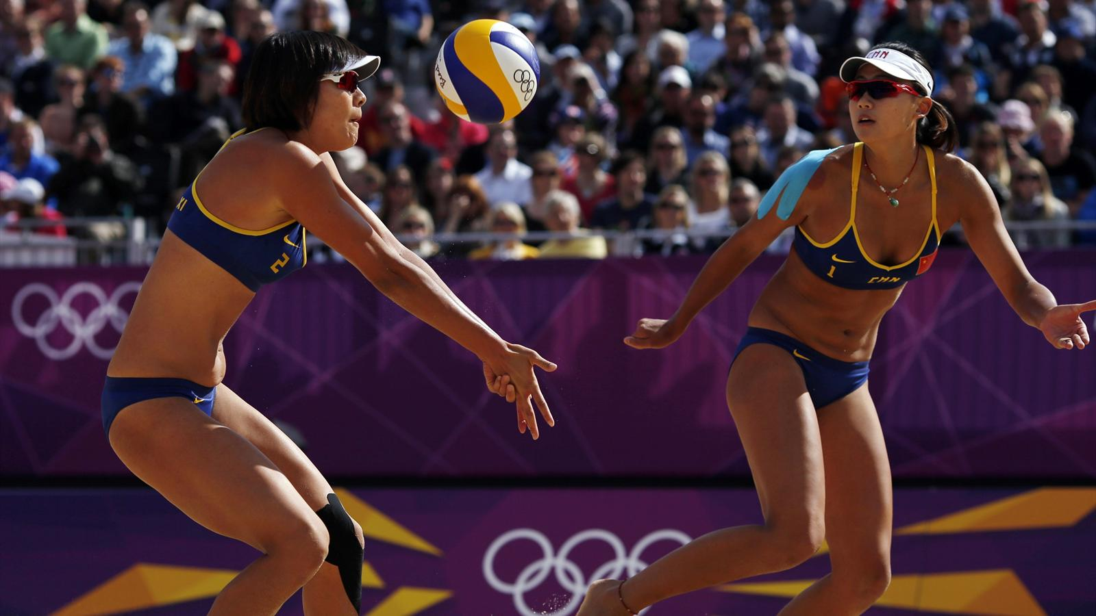 China Into Quarters Olympic Games 2012 Beach Volley