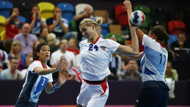 Second Olympic handball defeat for GB ladies